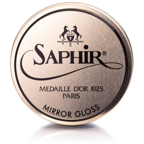 Saphir Mirror Gloss hellbraun