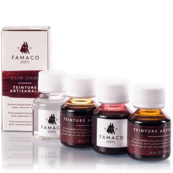 Famaco einziehende Lederfarbe Artisanale