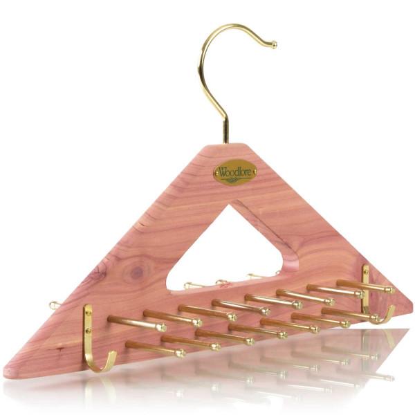 Woodlore Krawatten- und Gürtelbügel dreieckig