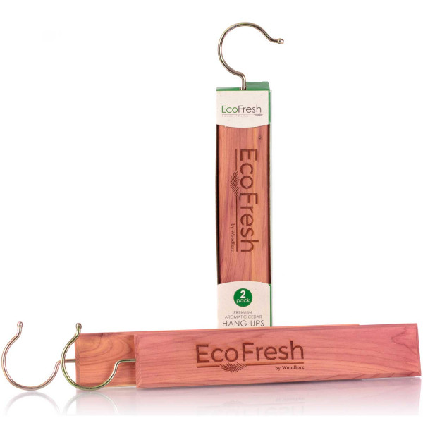 EcoFresh Premium Aromatic Cedar Hang-ups