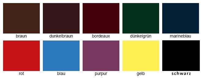 Saphir-Farbe