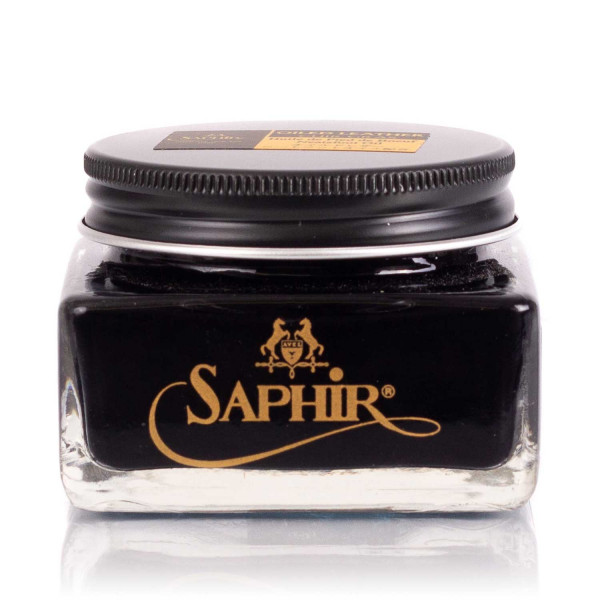 Saphir Medaille d`Or Oiled Leather schwarz