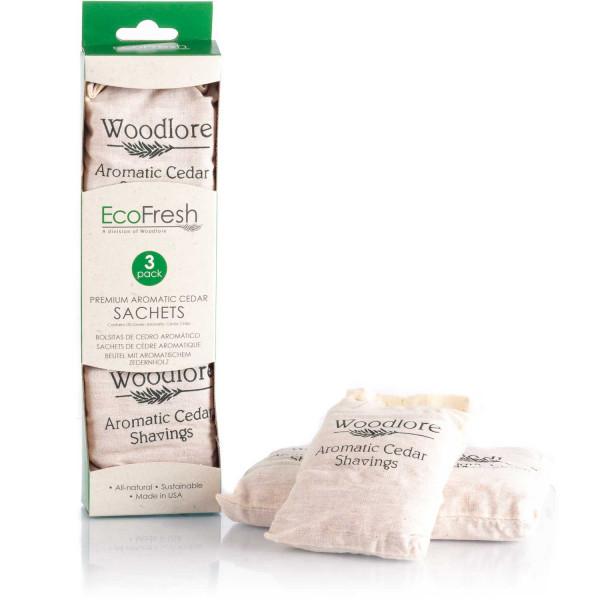 EcoFresh Premium Aromatic Cedar Sachets