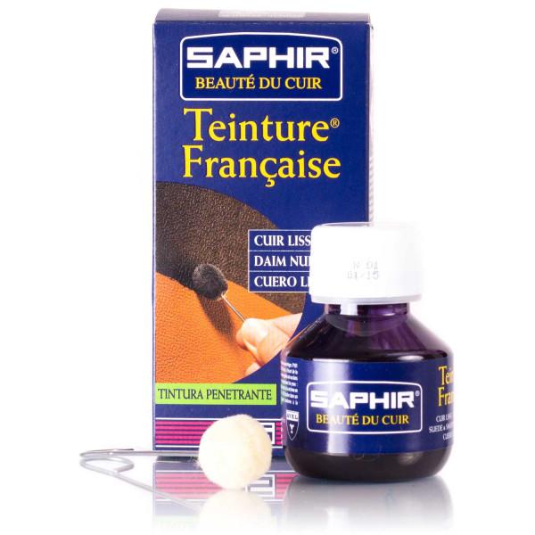 Saphir Lederfarbe Teinture Francaise